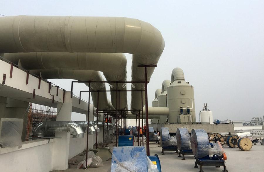 雷盟通風工程:AAC瑞聲科技項目